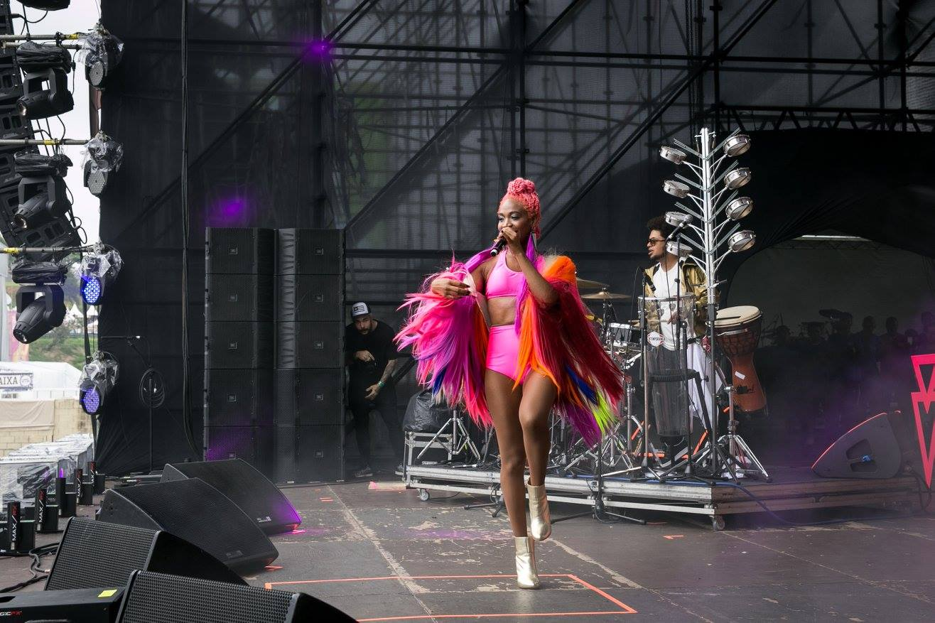 Karol Conká no Lollapaloosa