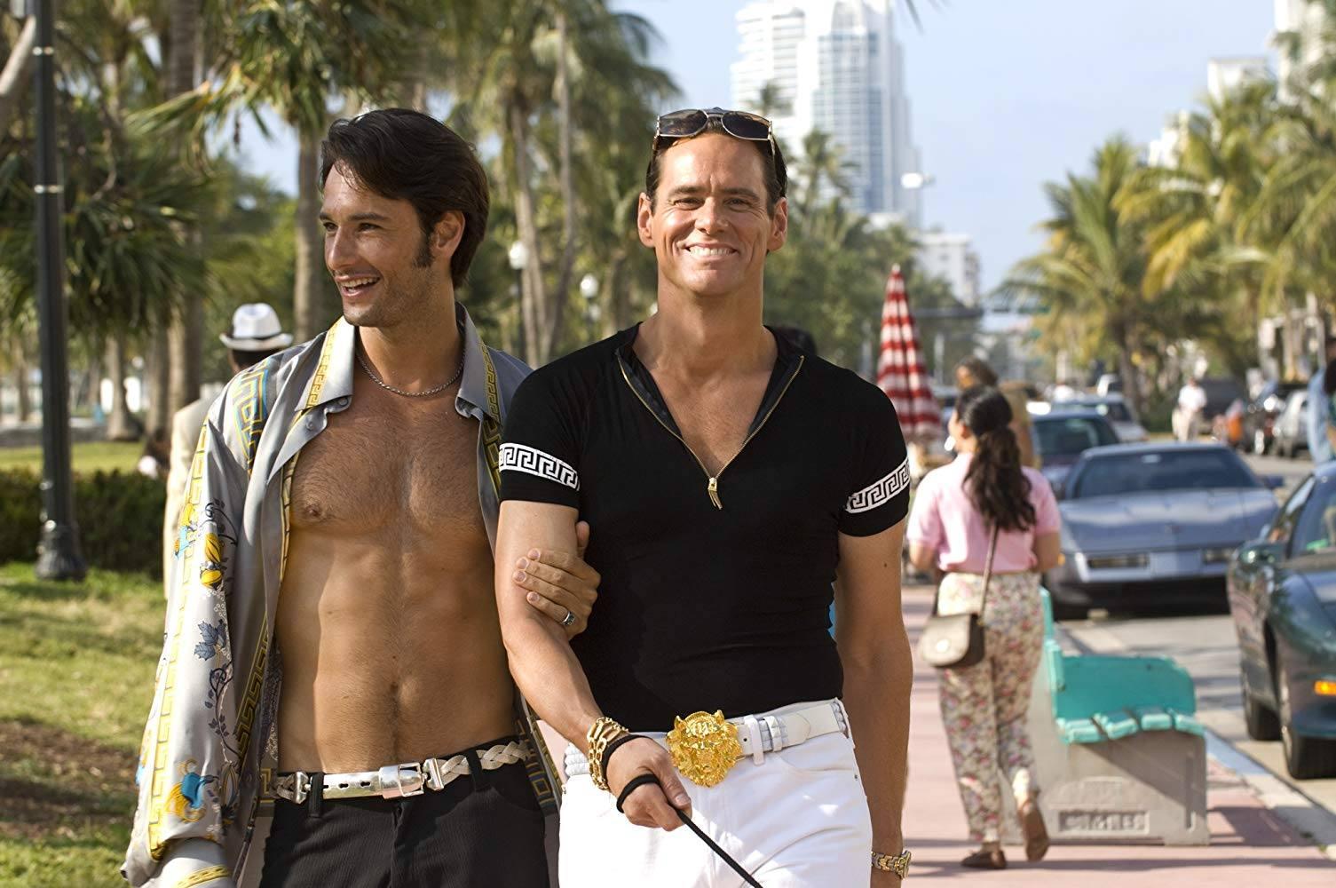 Rodrigo Santoro e Jim Carrey